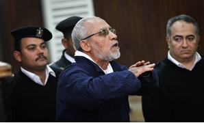 FILE- Former Muslim Brotherhood Supreme Guide Mohamed Badie - Photo by: Kareem abdelAziz/Egypt Today