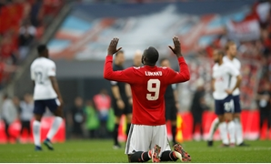 Soccer Football - FA Cup Semi-Final - Manchester United v Tottenham Hotspur - Wembley Stadium, London, Britain - April 21, 2018 Manchester United's Romelu Lukaku celebrates after the match Action Images via Reuters/Carl Recine