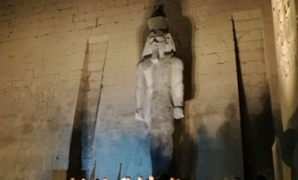 Unveiling restored King Ramses II colossus - Egypt Today.