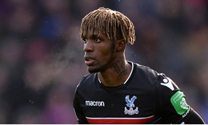 John Smith's Stadium, Huddersfield, Britain - March 17, 2018 Crystal Palace's Wilfried Zaha REUTERS/Peter Powel