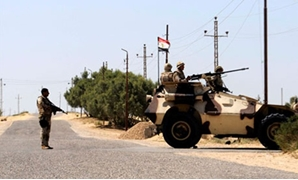 Egyptian army troops in North Sinai- Reuters