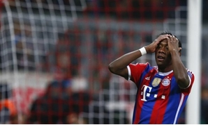 Bayern Munich's David Alaba reacts after missing a chance to score during their Champions League Group E second leg soccer match against AS Roma in Munich November 5, 2014. REUTERS/Michael Dalder