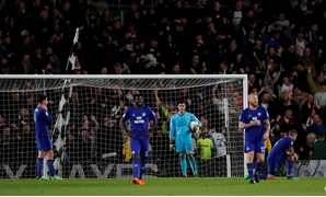 Soccer Football - Championship - Derby County v Cardiff City - Pride Park, Derby, Britain - April 24, 2018 Cardiff City's Neil Etheridge looks dejected after Derby County's second goal Action Images/Andrew Boyers