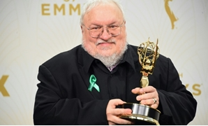 "George R.R. Martin says his new book will set out the history of the Targaryen dynasty, key players in the ""Game of Thrones"" saga-GETTY IMAGES NORTH AMERICA/AFP/File / Jason Merritt"