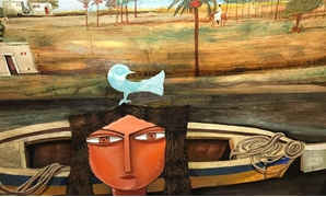 "Artworks from ""Fishing, Nubia and Horseback Riding"" Exhibition-Official Facebook Page"