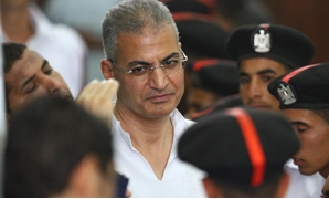 FILE Essam Sultan during the trial of Rabaa sit-in dispersal- Egypt Today- Hussein Tallal