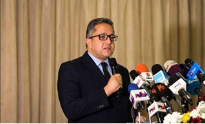 Minister of Antiquities Khaled al-Anani inaugurated on Saturday, the fourth International Tutankhamun Conference, organized by the Grand Egyptian Museum (GEM) at Le Méridien Pyramids Hotel - Hassan Mohamed/ Egypt Today