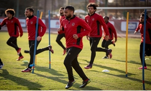 An Al-Ahly first team training