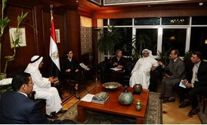 Minister of Investment meets with Gulf for the Love of Egypt Delegation - Press photo