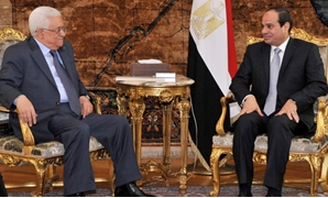 President Abdel Fatah al-Sisi with Palestinian President Mahmoud Abbas – Archive Photo