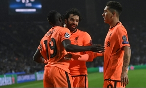 Liverpool's Mohamed Salah, Sadio Mane and Roberto Firmino have scored 29 goals in the Champions League