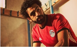 Salah with Egypt's jersey – Courtesy of Salah's official account on Twitter