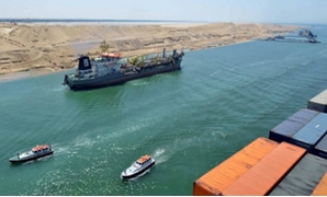 A ship transiting through the Suez Canal - Photo courtesy of SCA