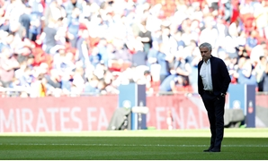 Soccer Football - FA Cup Final - Chelsea vs Manchester United - Wembley Stadium, London, Britain - May 19, 2018 Manchester United manager Jose Mourinho before the match REUTERS/Andrew Yates