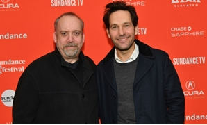 "Actors Paul Giamatti and Paul Rudd attend the ""The Catcher Was A Spy"" premiere during the 2018 Sundance Film Festival"