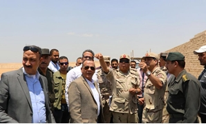 Minister of Antiquities Khaled al Anani and Head of the Armed Forces Engineering Corps Kamel el Wazir inspected on Tuesday the Giza Plateau development project and the Grand Egyptian Museum (GEM)-Ministry of Antiquities' official Facebook Page