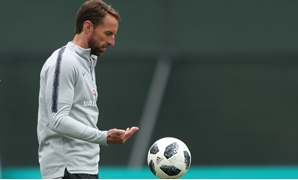 World Cup - England Training - Saint Petersburg, Russia - June 19, 2018 England manager Gareth Southgate during training REUTERS/Lee Smith