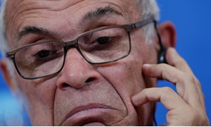 Soccer Football - World Cup - Egypt Press Conference - Volgograd Arena, Volgograd, Russia - June 24, 2018 Egypt coach Hector Cuper during the press conference REUTERS/Ueslei Marcelino