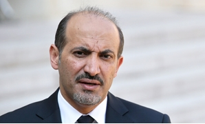 Syria's Al-Ghad Current (Tomorrow) opposition movement chairperson, Ahmed Jarba – press photo