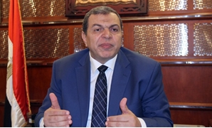 FILE - Minister of Manpower Mohamed Saafan - Egypt Today/Ahmed Maarouf