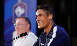 World Cup - France Press Conference - Istra, Russia - June 19, 2018 France's Raphael Varane during the press conference REUTERS/Tatyana