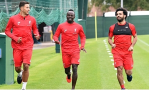 Liverpool's Salah, Mane and Grujic feature in training session – Liverpool's official website