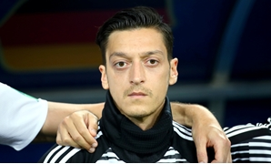 FILE PHOTO: Soccer Football - World Cup - Group F - Germany vs Sweden - Fisht Stadium, Sochi, Russia - June 23, 2018 Germany's Mesut Ozil before the match REUTERS/Michael Dalder/File Photo