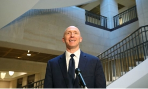 © Mark Wilson/Getty Images North America/AFP (file photo) | Carter Page, former foreign policy adviser for the Trump campaign, speaks to the media on November 01, 2017.