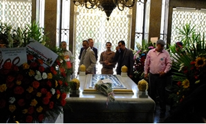 Tens of Egyptians flocked to the tomb of late President Gamal Abdel Nasser on Monday morning on the occasion of the 66th anniversary of July 23 Revolution- Photo by Salah al-Rashidy/Egypt Today