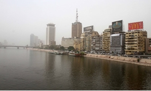 An overview for the Nile River in Cairo/ Hossam Atef