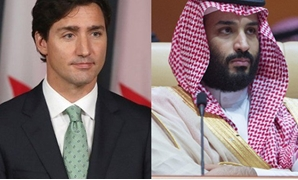anada, Saudi Arabia row ramps up. Pictured are the Prime Minister of Canada, Justin Trudeau (Left), and Crown Prince of Saudi Arabia, Mohammad bin Salman (Right). PHOTO: AFP