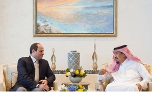 President Abdel Fatah al-Sisi during his meeting with King Salman bin Abdulaziz of Saudi Arabia on Tuesday in the futuristic city of NEOM – Press Photo.jpg