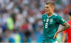 Soccer Football - World Cup - Group F - South Korea vs Germany - Kazan Arena, Kazan, Russia - June 27, 2018 Germany's Toni Kroos looks dejected REUTERS/John Sibley