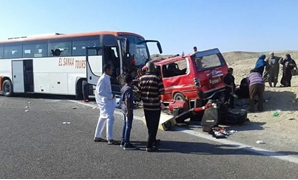8 killed, 14 injured over a car accident on Red Sea road - FILE