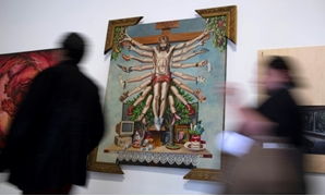 The exhibition originally opened last year in the southern city of Porto Alegre but was forced to close by critics who accused it of attacking Christianity.