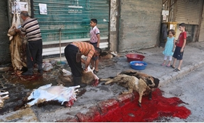 FILE - Cairo governorate warns of the slaughter of Eid Al-Adha sacrifices in the streets of the capital in order to preserve the cleanliness of the streets and the aesthetic appearance