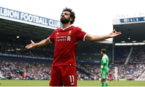 File- The Hawthorns, West Bromwich, Britain - April 21, 2018 Liverpool's Mohamed Salah celebrates scoring their second goal REUTERS/Andrew Yates