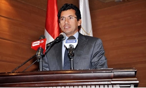 FILE: Egypt's Minister of Youth Ashraf Sobhy