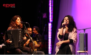 Dina el-Wedidi and Youssra el-Hawary experience a splendid night at Kennedy Center in Washington - Photo by Nourhan Magdi/Egypt Today
