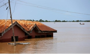A house partially submerged in flood waters is pictured in Lokoja city, Kogi State, Nigeria September 17, 2018. REUTERS/Afolabi Sotunde