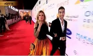 Yousra on the red Carpet - Egypt Today