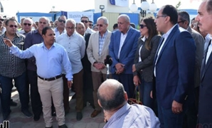 Prime Minister Mostafa Madbouly inspects Nasser City's West Plateau project -Press Photo