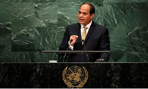 President Abdel Fatah al-Sisi at the UNGA- Reuters