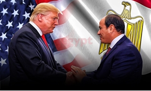 U.S. President Donald Trump and Egypt's President Abdel Fatah al-Sisi - courtesy/ Mohamed Ezat