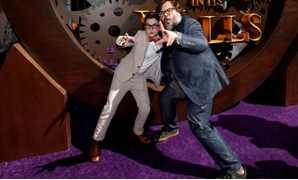 "Actors Jack Black and Owen Vaccaro pose at the premiere for ""The House With a Clock in its Walls"" in Los Angeles, California, U.S., August 16, 2018. REUTERS/Mario Anzuoni."