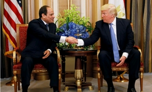 File- President Abdel Fatah al-Sisi during his meeting with his U.S. counterpart Donald Trump in New York