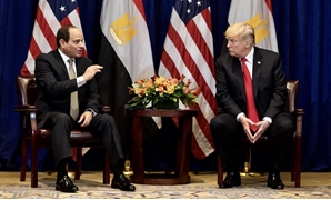 Egypt's President Abdel Fatah al-Sisi met with U.S. President Donald Trump in New York