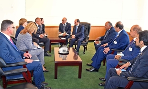 President Abdel Fatah al-Sisi on Monday met with Bulgarian Prime Minister Boyko Borissov in New York on the sidelines of the the 73rd meetings of the United Nations General Assembly - Press Photo