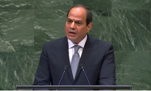 Sisi strongly affirmed that Egypt has a firm constitutional base for the preservation of human rights – PHOTO: Still image from live broadcast