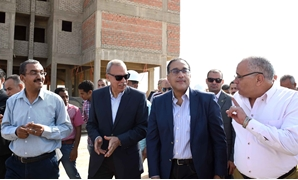 Prime Minister Moustafa Madbouli inspected on Thursday New Qena city- Press photo